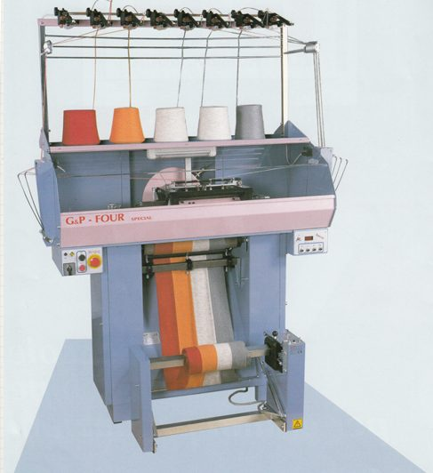 G&P Four - G&P Five knitting machines